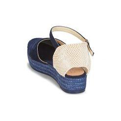 Sandały Betty London  ANTALA. Niebieskie sandały damskie marki Betty London. Za 239,00 zł.
