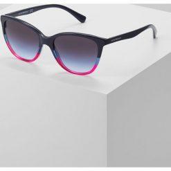 Emporio Armani Okulary przeciwsłoneczne violet/grey. Fioletowe okulary przeciwsłoneczne damskie lenonki Emporio Armani. Za 529,00 zł.