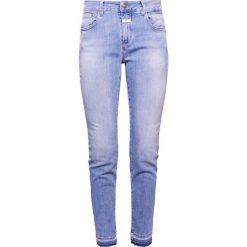 CLOSED BAKER Jeansy Slim Fit soft mid blue. Niebieskie jeansy damskie CLOSED, z bawełny. W wyprzedaży za 631,20 zł.