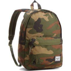 Plecak HERSCHEL - Classic 10500-00032 Woodland Camo. Zielone plecaki męskie Herschel, z materiału. W wyprzedaży za 179,00 zł.