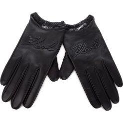 Rękawiczki Damskie KARL LAGERFELD - 86KW3609 Black. Czarne rękawiczki damskie KARL LAGERFELD, ze skóry. Za 569,00 zł.