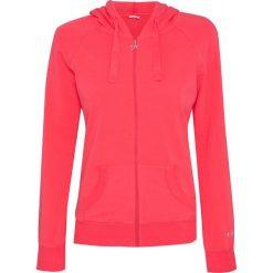 Bluzy rozpinane damskie: Bluza DEHA ACTIVE Czerwony