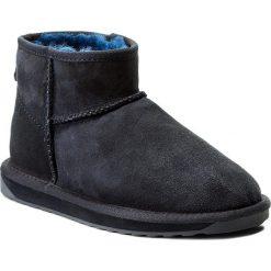 Buty EMU AUSTRALIA - Stinger Micro W10937 Midnight. Niebieskie buty zimowe damskie EMU Australia, ze skóry. Za 549,00 zł.
