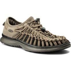 Sandały KEEN - Uneek 02 1018710 Brindle/Bungee Cord. Zielone sandały męskie Keen, z materiału. W wyprzedaży za 259,00 zł.