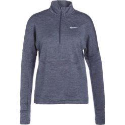 Nike Performance RUNNING THERMA SPHERE Koszulka sportowa thunder blue/heather/armory blue. Zielone topy sportowe damskie marki Nike Performance, xl, z materiału. W wyprzedaży za 239,20 zł.