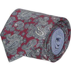Krawat winman bordo classic 200. Czerwone krawaty męskie Recman, z bawełny, klasyczne. Za 129,00 zł.