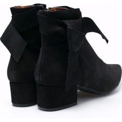 Sixtyseven - Botki. Czarne buty zimowe damskie Sixtyseven, z materiału. W wyprzedaży za 299,90 zł.