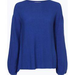 Swetry klasyczne damskie: talk about - Sweter damski, niebieski