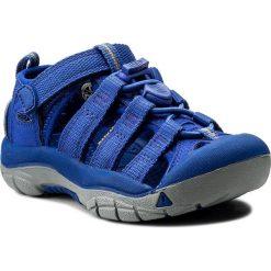 Sandały KEEN - Newport H2 1018266 Surf The Web. Niebieskie sandały chłopięce Keen, z materiału. W wyprzedaży za 189,00 zł.