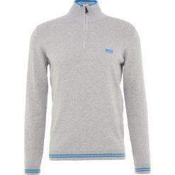 BOSS ATHLEISURE ZIMEX Sweter light pastel grey. Niebieskie swetry klasyczne męskie marki BOSS Athleisure, m. Za 579,00 zł.