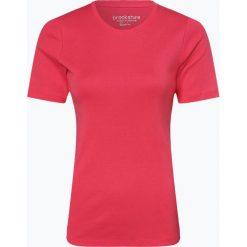 Brookshire - T-shirt damski, czerwony. Czarne t-shirty damskie marki brookshire, m, w paski, z dżerseju. Za 49,95 zł.