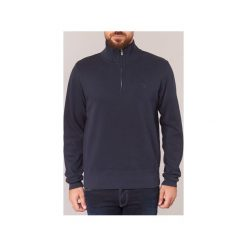 Swetry Gant  SACKER RIB HALF ZIP. Szare swetry klasyczne męskie marki GANT, m. Za 412,30 zł.