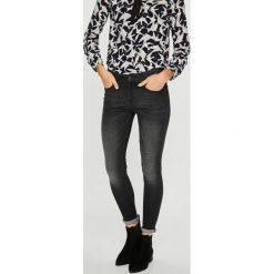 Medicine - Jeansy Basic. Czarne jeansy damskie rurki MEDICINE, z bawełny. Za 119,90 zł.
