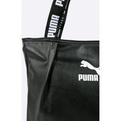 Puma - Torebka. Szare torebki klasyczne damskie Puma, z materiału, duże. W wyprzedaży za 159,90 zł.