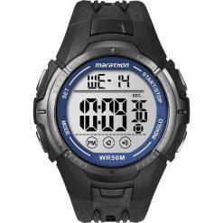Timex - Zegarek T5K359. Czarne zegarki męskie marki Fossil, szklane. Za 139,90 zł.