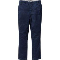 Rurki dziewczęce: Spodnie chino Skinny Fit bonprix ciemnoniebieski