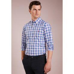 Polo Ralph Lauren SLIM FIT Koszula royal blue. Szare koszule męskie slim marki Polo Ralph Lauren, l, z bawełny, button down, z długim rękawem. Za 509,00 zł.
