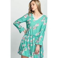Zielona Sukienka Sleepy Petal. Zielone sukienki letnie Born2be, s, mini. Za 79,99 zł.