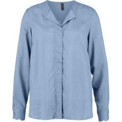 Bluzki asymetryczne: YAS YASASTA  Bluzka china blue