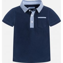 Mayoral - T-shirt dziecięcy 92-134 cm. Niebieskie t-shirty męskie Mayoral, z bawełny. Za 99,90 zł.
