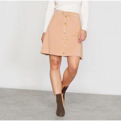 Minispódniczki: Spódnica trapezowa z dzianiny milano