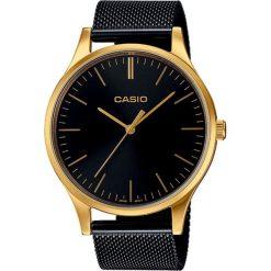 Casio - Zegarek LTP.E140GB.1AEF. Czarne zegarki męskie marki Fossil, szklane. Za 439,90 zł.