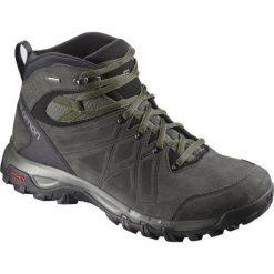 Buty trekkingowe męskie: Salomon Buty męskie Evasion 2 Mid LTR GTX Castor Gray/Beluga r. 44 (400019)