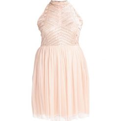 Sukienki hiszpanki: Lace & Beads Curvy WREN  Sukienka koktajlowa nude