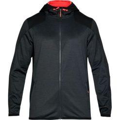 Bluzy męskie: Under Armour Bluza męska Reactor Full Zip czarna r. XS (1299166-016)