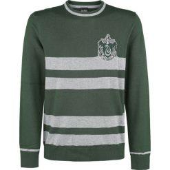 Swetry klasyczne męskie: Harry Potter Slytherin Sweter zielony