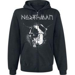 Bejsbolówki męskie: Northman Bluza z kapturem rozpinana czarny
