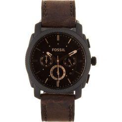 Zegarek FOSSIL - Machine FS4656 Dark Brown/Black. Różowe zegarki męskie marki Fossil, szklane. Za 845,00 zł.
