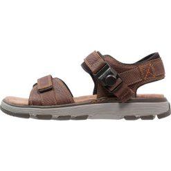 Sandały męskie: Clarks TREK PART Sandały trekkingowe dark tan