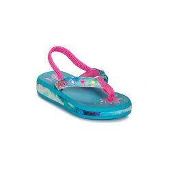 Japonki Dziecko  Skechers  SUNSHINES/HIPPIE SKIPPIE. Szare klapki dziewczęce marki Skechers. Za 103,20 zł.