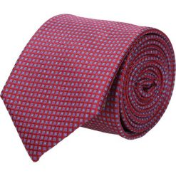 Krawaty męskie: krawat platinum bordo classic 211