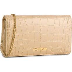 Torebka LOVE MOSCHINO - JC4159PP16LW0901  ORO. Żółte torebki klasyczne damskie marki Love Moschino, ze skóry ekologicznej. Za 479,00 zł.