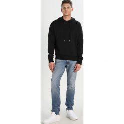 Kardigany męskie: Tiger of Sweden Jeans DORK Bluza z kapturem black