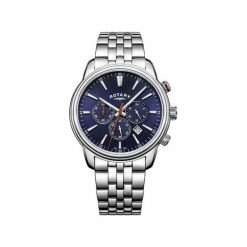 ZEGAREK ROTARY MONACO GB05083/05. Niebieskie zegarki męskie ROTARY, ze stali. Za 1190,00 zł.