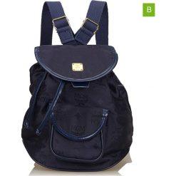 Plecaki damskie: Plecak w kolorze granatowym – 26 x 22 x 15 cm
