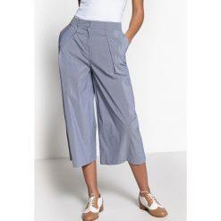 Spodnie z wysokim stanem: Luźne spódnico-spodnie, z wysokim stanem