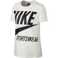 Koszulka Nike NSW BRS Tee (878111-133). Czarne bluzki damskie Nike, z bawełny, z krótkim rękawem. Za 49,99 zł.