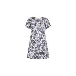 Sukienki krótkie MICHAEL Michael Kors  MS68VFH416. Szare sukienki mini marki MICHAEL Michael Kors, z krótkim rękawem. Za 1143,20 zł.
