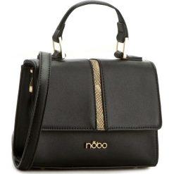Torebka NOBO - NBAG-C1000-C023 Czarny. Czarne torebki klasyczne damskie Nobo, ze skóry ekologicznej. W wyprzedaży za 129,00 zł.