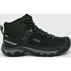Keen - Buty Targhee Exp Mid. Brązowe buty trekkingowe męskie marki Keen, z materiału, outdoorowe. W wyprzedaży za 429,90 zł.