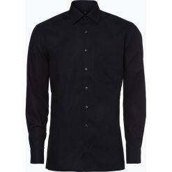 OLYMP Luxor modern Fit - Koszula męska niewymagająca prasowania, czarny. Czarne koszule męskie non-iron marki Cropp, l. Za 229,95 zł.