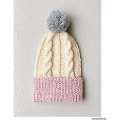 Czapki zimowe damskie: czapka z wełny alpaki The ADVENTURE Begins