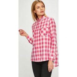 U.S. Polo - Koszula. Szare koszule damskie w kratkę U.S. Polo, m, z bawełny, casualowe, z klasycznym kołnierzykiem, z długim rękawem. W wyprzedaży za 279,90 zł.