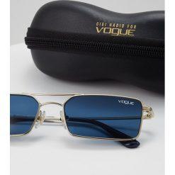 VOGUE Eyewear Okulary przeciwsłoneczne pale gold. Żółte okulary przeciwsłoneczne damskie lenonki VOGUE Eyewear. Za 499,00 zł.