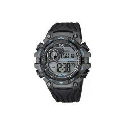 Biżuteria i zegarki męskie: Zegarek Q&Q Męski  M157-003 Dual Time