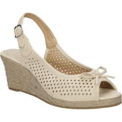 SANDAŁY AMERICAN SM140702-3. Brązowe sandały damskie American. Za 39,99 zł.